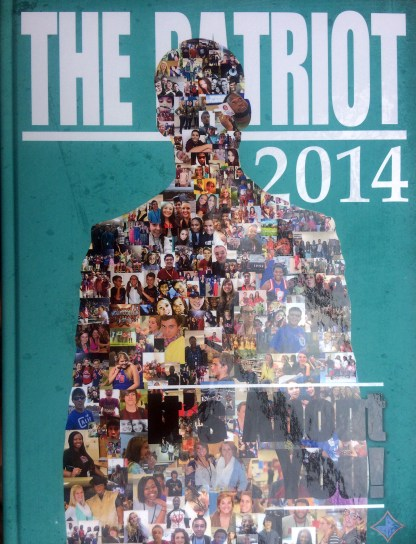 2014 Fort Dorchester Patriot Yearbook Cover