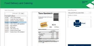 NiceLabel's simple solution lists mandatory nutrition facts on food labels