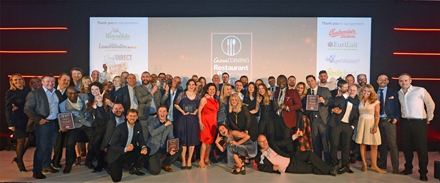 Casual dining sector honoured at national awards