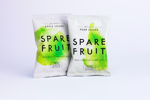 Upstart snack brand takes on food waste