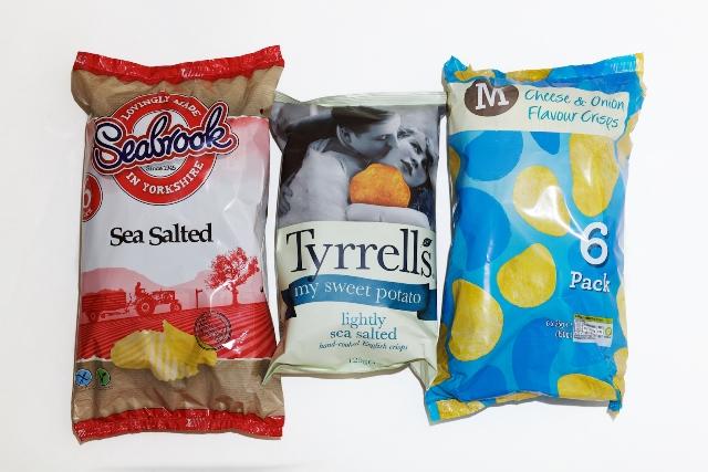 Acrylamide levels of supermarket crisps revealed