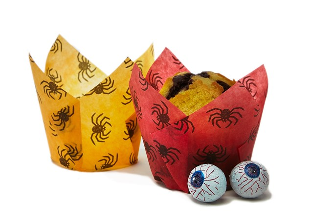 i2r promotes printed paper products with Halloween muffin wraps