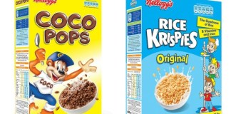 Kellogg curbs sugar in top three kid's cereals