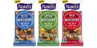 Naked goes beyond juice with first range of fruit & vegetable bars