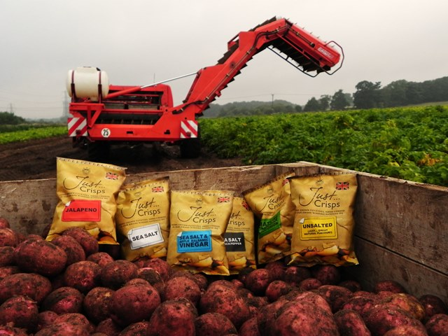 Just Crisps chooses Applied Weighing as pick of the crop