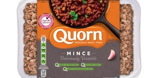 Quorn eliminating black plastic packaging from its supply chain