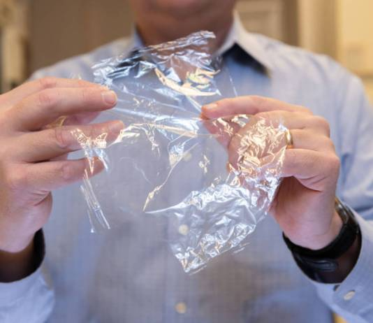 Crab shells and trees could replace flexible plastic packaging, researchers say