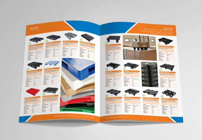 Goplasticpallets.com demonstrate growth and range with new brochure