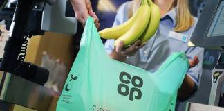 Co-op introduces compostable carrier bags as part of sustainability strategy