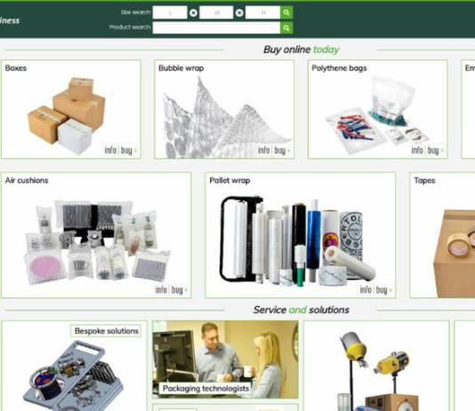 Latest evolution for Kite Packaging's ecommerce distribution