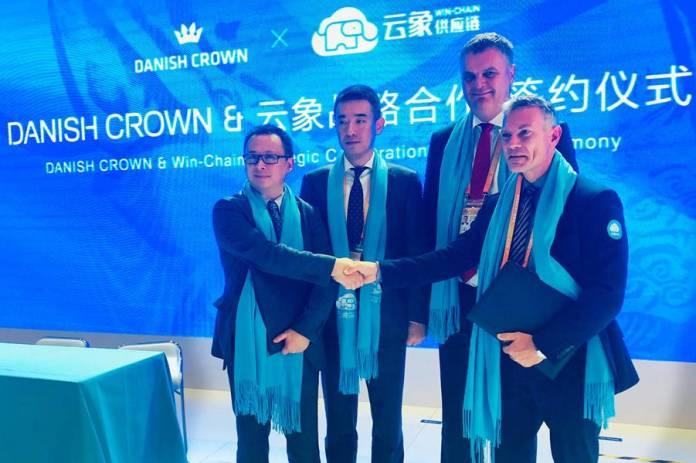Danish Crown scores major pork supply deal with Alibaba
