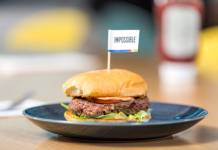 Next-gen recipe launched for Impossible Burger