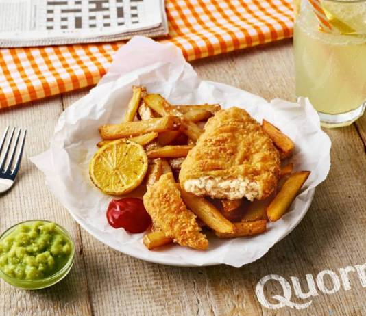 Quorn marks Veganuary with Fishless Fillets