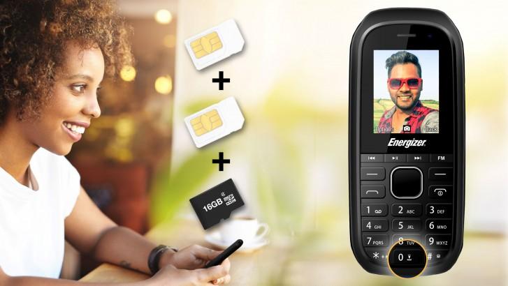 Energizer E12 is a €12 dual-SIM phone with a microSD slot and media buttons - GSMArena.com news