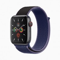 Apple Watch Series 5 in: Space gray aluminum