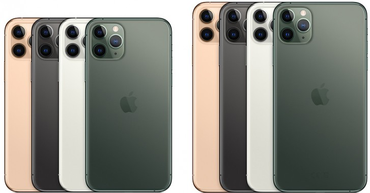 iPhone 11 Pro and 11 Pro Max