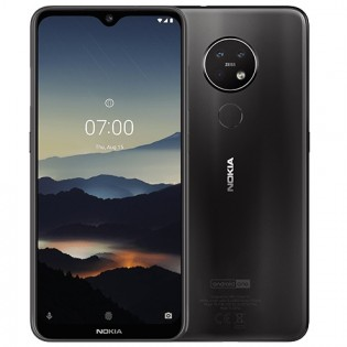 Nokia 7.2 in Charcoal color