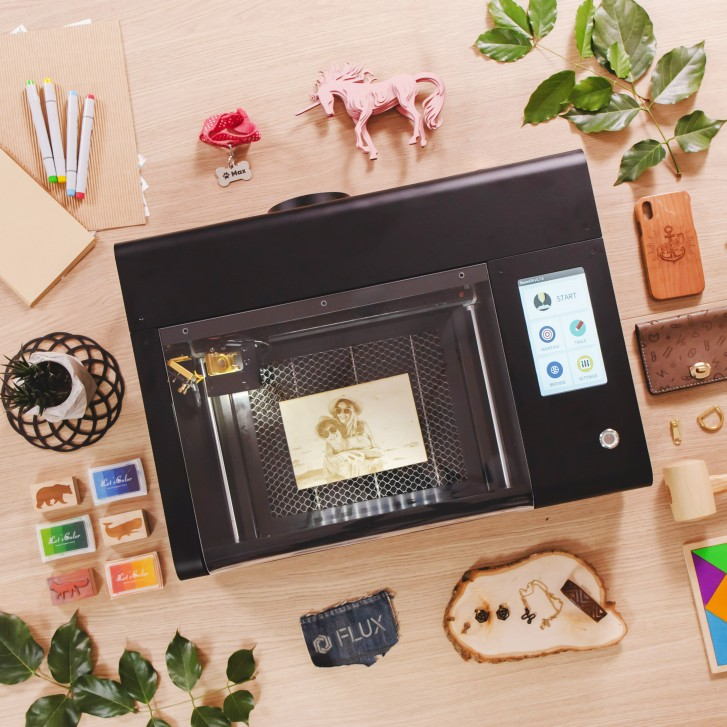 Beamo is an affordable, compact CO2 laser cutter and engraver