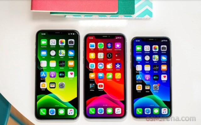 Apple iPhone 11 Pro Max, iPhone 11 și iPhone 11 Pro