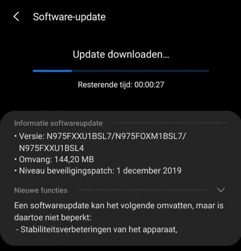 gsmarena 001 - سامسونج تبدأ إطلاق تحديث أندرويد 10 لجوالات Galaxy Note 10