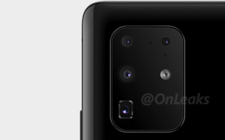 New Samsung Galaxy S11+ render shows actual camera positions