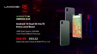 The A3X starts at $70
