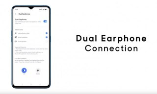 Realme Buds Air Neo are connected to the phone