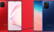 Samsung Galaxy S10 Lite and Galaxy Note10 Lite announced