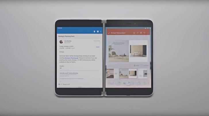 Microsoft Surface Duo dapat tiba lebih cepat dari jadwal, tetapi dengan perangkat keras generasi terakhir