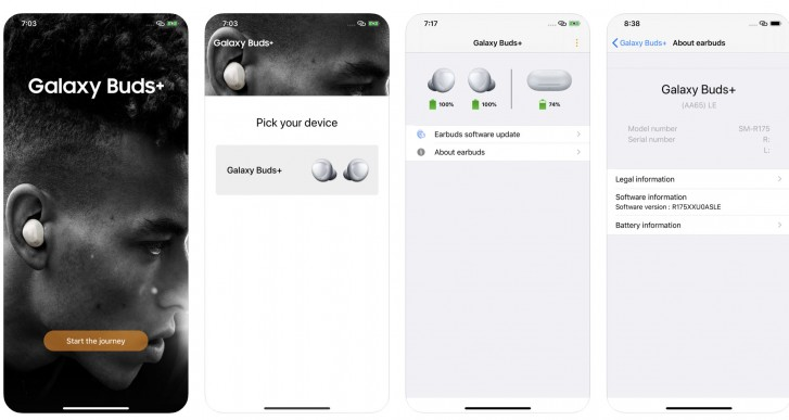Official Samsung Galaxy Buds+ goes live on Apple App Store