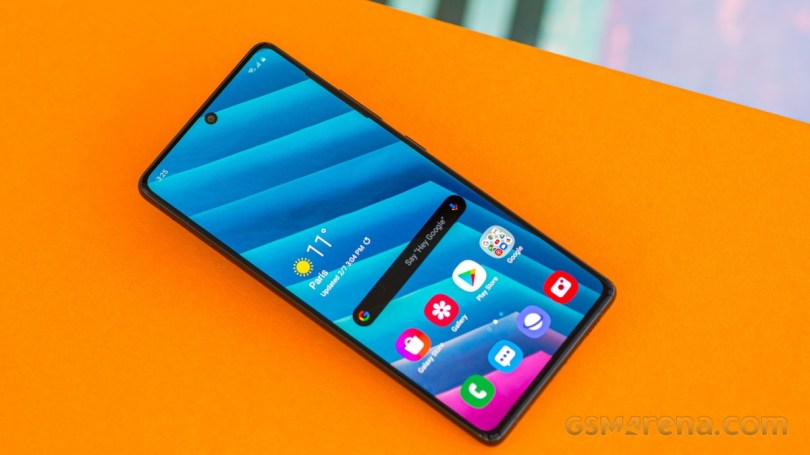 Samsung Galaxy S10 Lite is receiving One UI 3.1 with March security patch