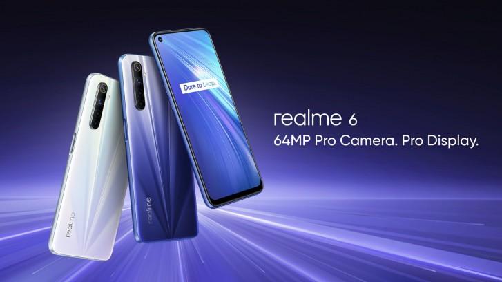 gsmarena 001 - شركة ريلمي تكشف عن جوالات Realme 6 كأرخص جوالات بشاشة معدل تحديثها 90 هرتز