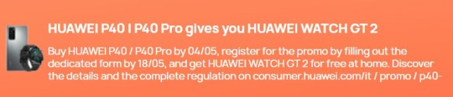 Huawei P40 și P40 Pro sunt disponibile acum în Europa, vin cu Watch GT 2 sau 2e gratuite