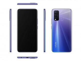 vivo Y50 dengan warna Biru