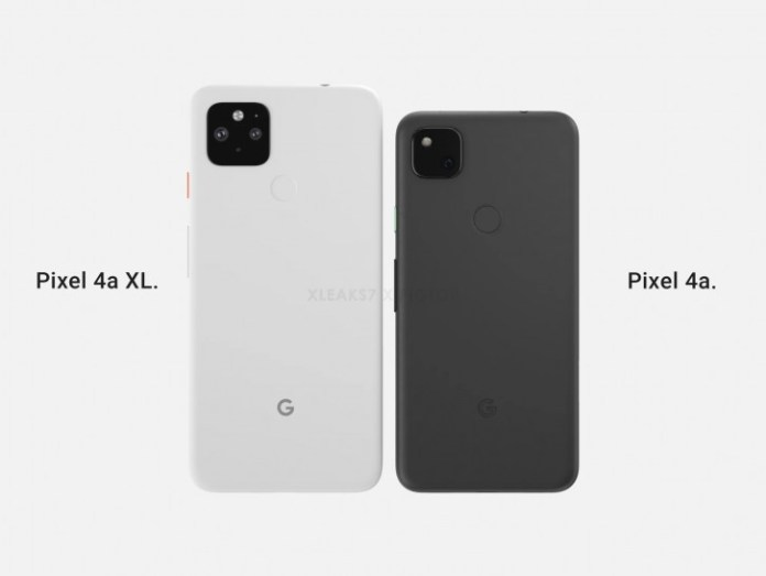 Next is the display of Google Pixel 4a XL that was canceled