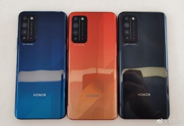 Honor X10 suprafață de imagine în direct înainte de lansare