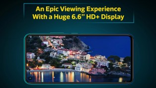 6.6'' IPS LCD with 720p+ resolution