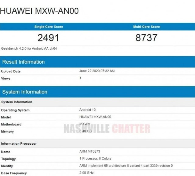 Honor 30 Lite passes through Geekbench revealing key specs