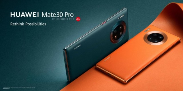 The Mate30 models were the first Huawei phones to ship without GMS