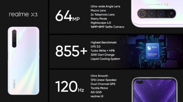 Realme X3 goes official with 12MP telephoto camera, Snapdragon 855+ chipset