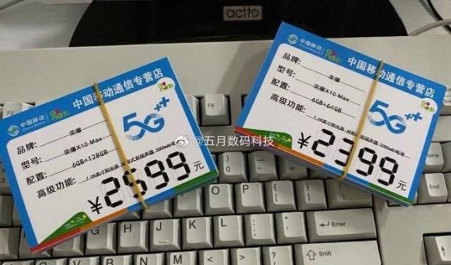 Honor X10 Max apare în mai multe imagini din mână