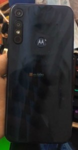 Motorola Moto E7 Plus olduğu iddia edilen fotoğraflar