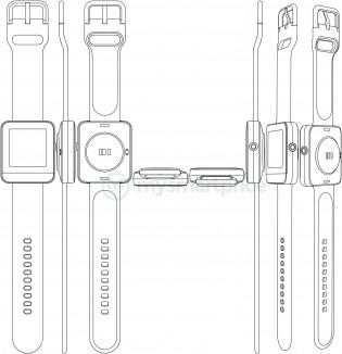 Desain jam tangan pintar lainnya dari Realme