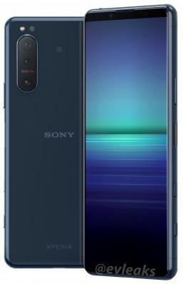 Sony Xperia 5 II (gambar bocor)