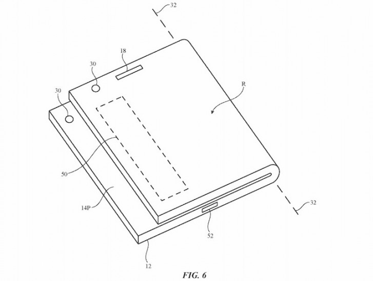 Apple's patent for folding device from this past July