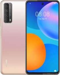 Huawei P Smart 2021 in black, green and gradient