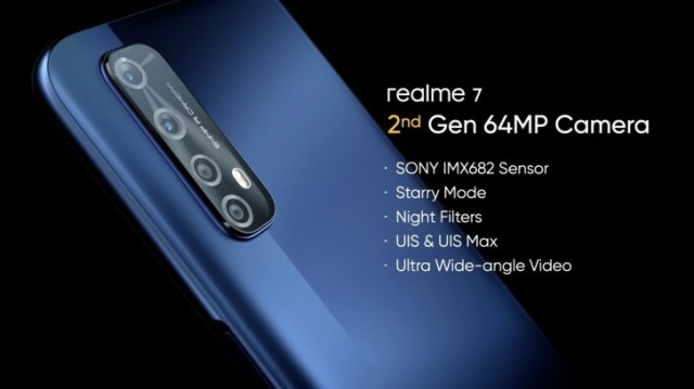 Realme 7 and 7 Pro announced: improved cameras and bigger, faster charging batteries