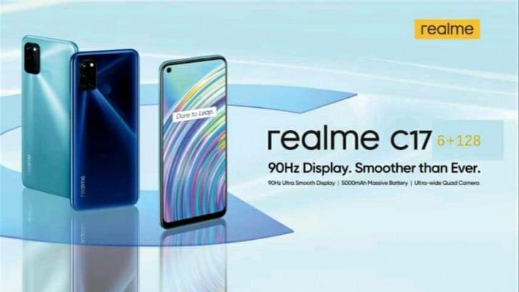 Realme C17 büyük sızıntısı temel özellikleri doğruladı