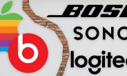 Apple stops selling Bose, Logitech and Sonos products