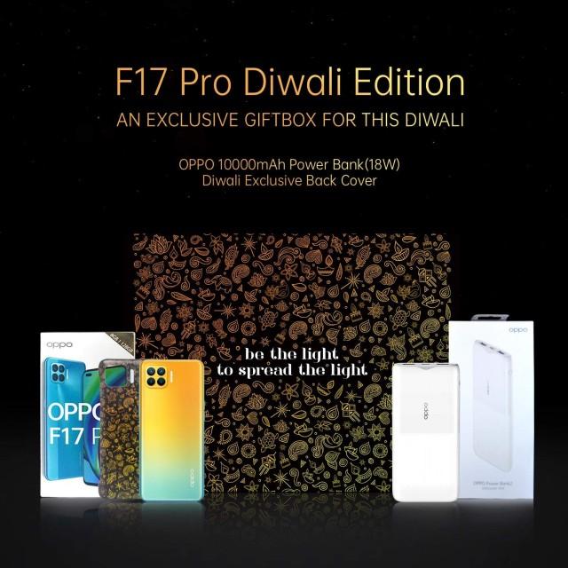 Oppo F17 Pro Diwali Edition's Gift Box